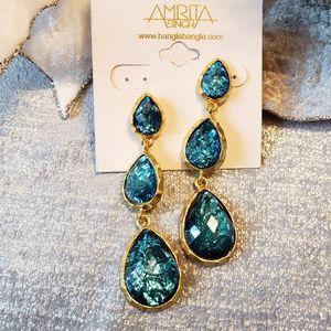 Amrita Singh East Hampton Blue Star Earrings
